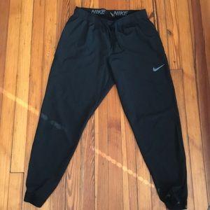 Nike nylon running pants size L joggers
